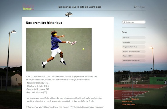 Bourg Tennis Club